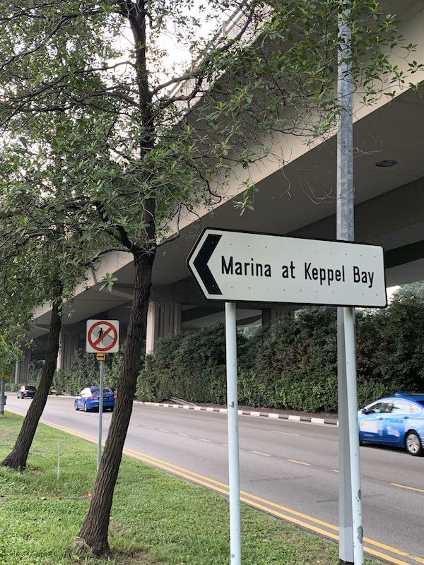 Street Signage of The Reef at King's Dock